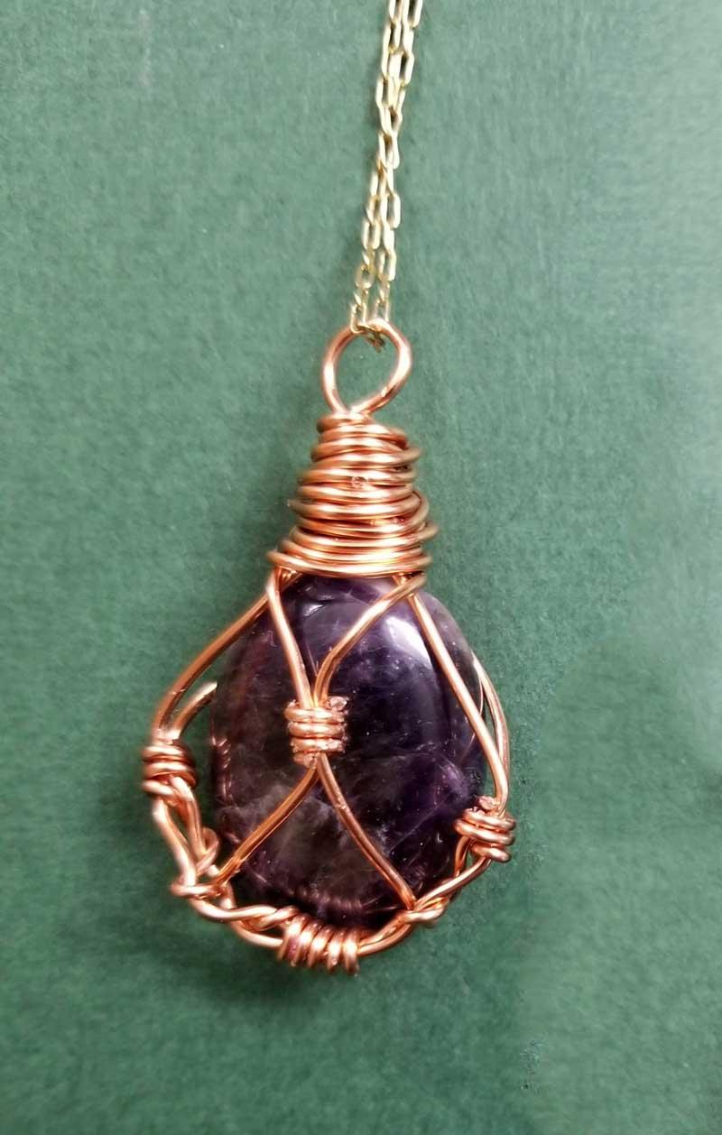 wire wrap stone f3