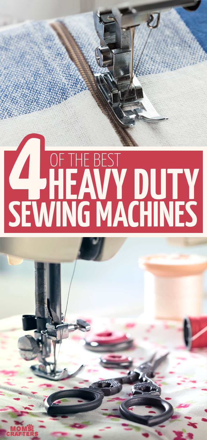 Click for a list of the best heavy duty sewing machine for sewing heavyweight fabrics like denim jeans, burlap, and other industrial fabrics. You'll find more sewing tips for buying a new sewing machine.