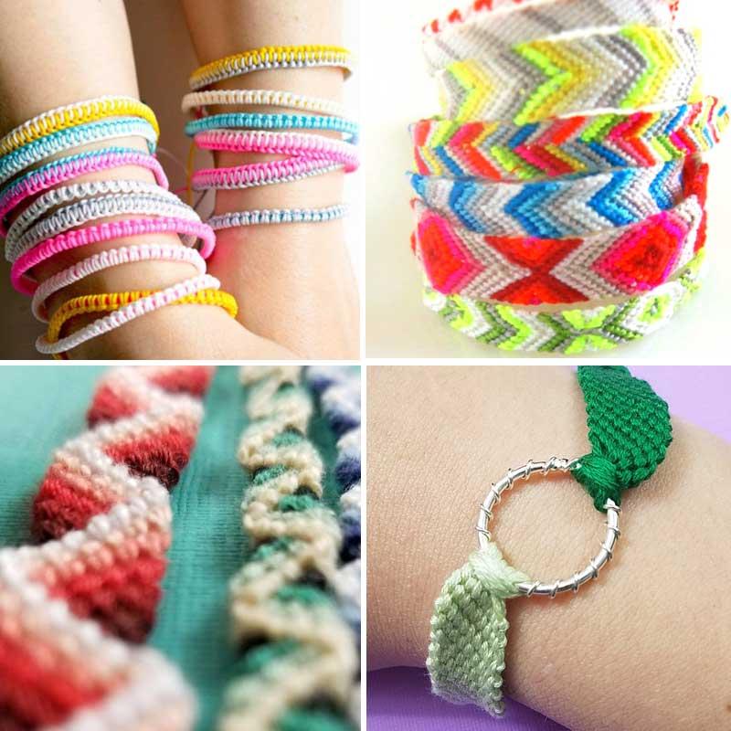 how to make DIY friendship bracelets