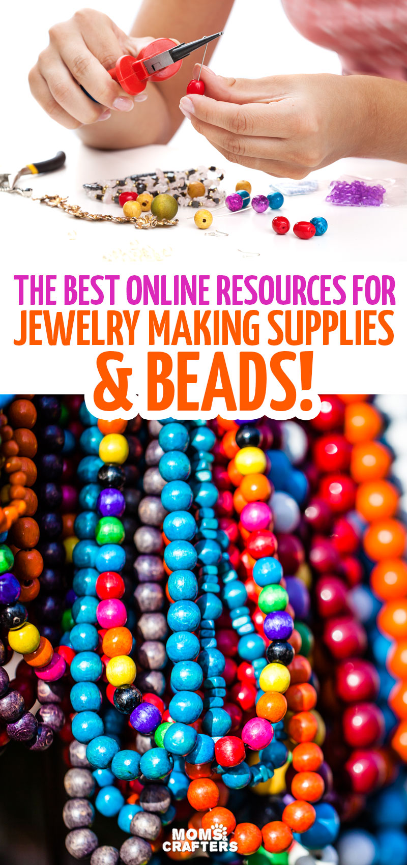 Click for some of the best places to buy beads onliine -and tips for beading and jewelry making beginners!