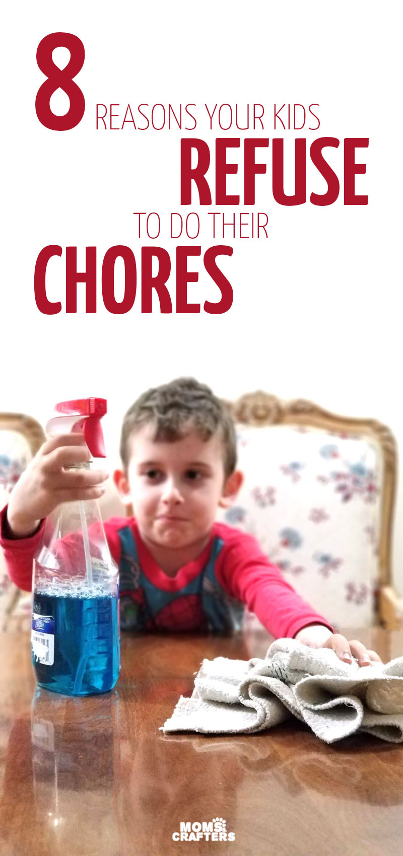 Learn how to get kids to do chores with some easy parenting tips and tricks - beyond reward charts and chore charts! Great tips for cleaning up for toddlers and preschoolers.