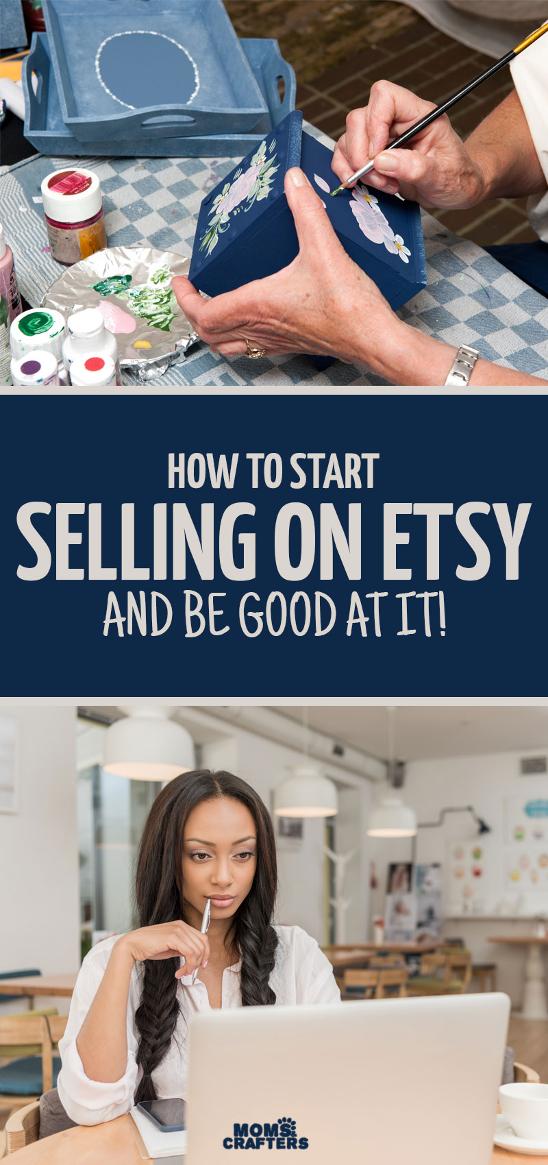 How to start selling online and be good at it! These Selling on Etsy tips and products ideas will help you earn some extra cash and set up small businesses. I hope these posts and articles help you out!
