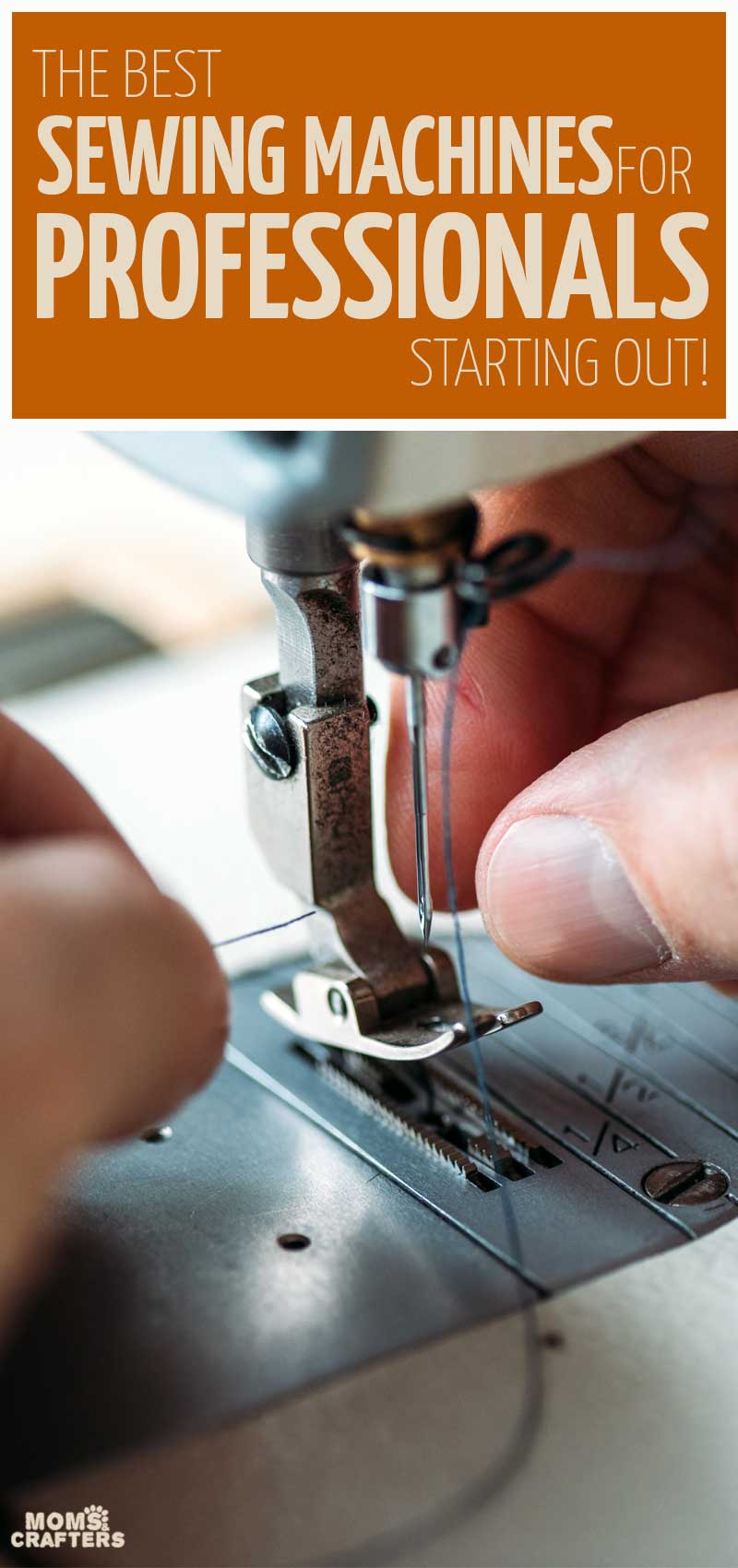 The best sewing machines for home businesses, dressmaking, and seamstresses as well as tailors - these best semi professional sewing machine options are perfect for accurate sewing and perfect seams.