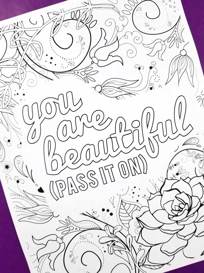 Coloring Pages For Girls 10 And Up Empowering Adult Coloring Pages