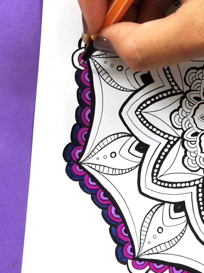 free printable mandala coloring pages for adults 2