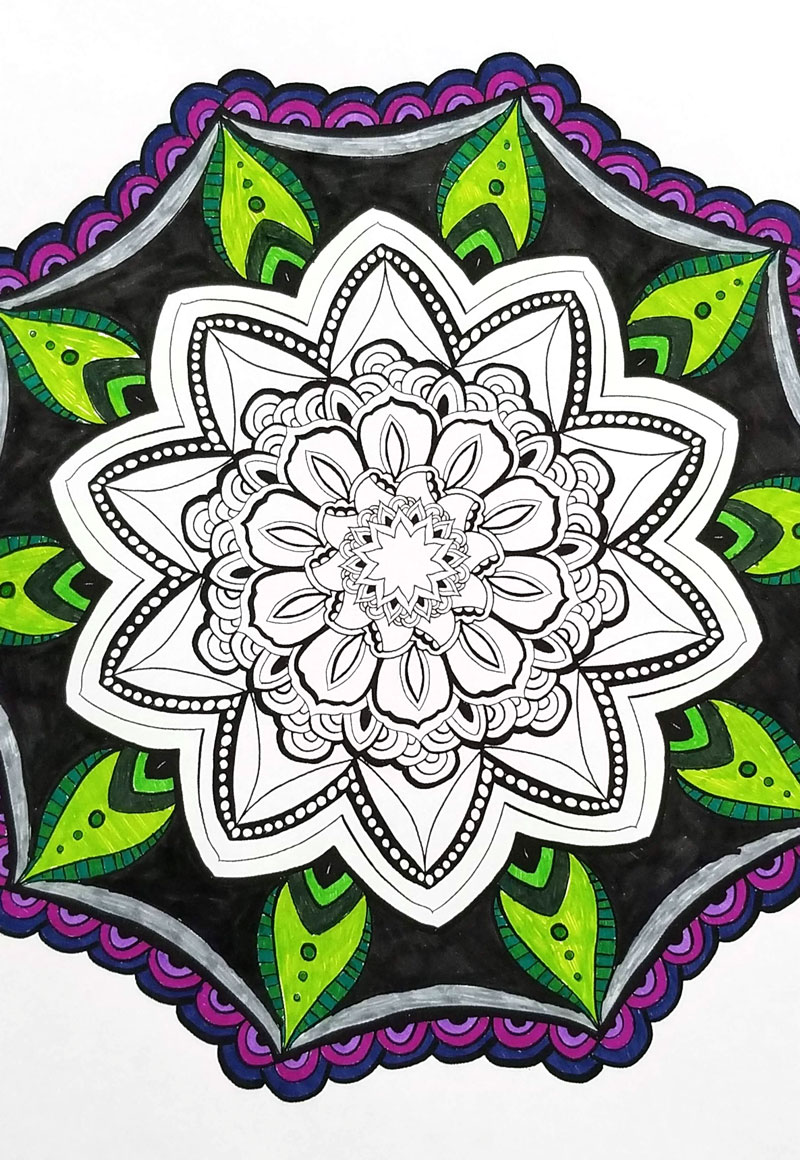 free printable mandala coloring pages for adults 6