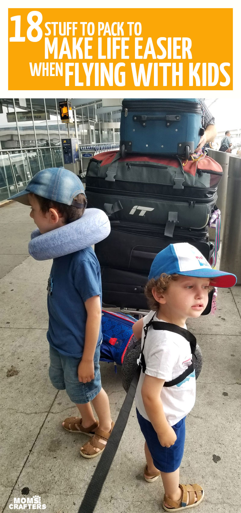 Click for tips for traveling with kids and our top must haves for international travel. You'll want this travel gear for flying with toddlers preschoolers or big kids.
