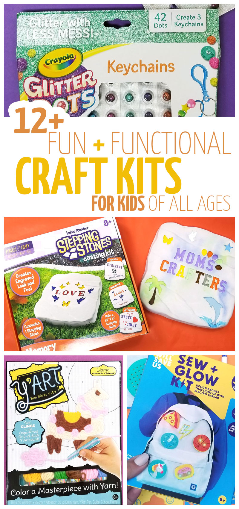 If you're looking for some fabulous gifts for crafters, try these craft making kits for kids! These wonderful holiday gifts for kids inspire creativity in preschoolers, kids, tweens, and teens!