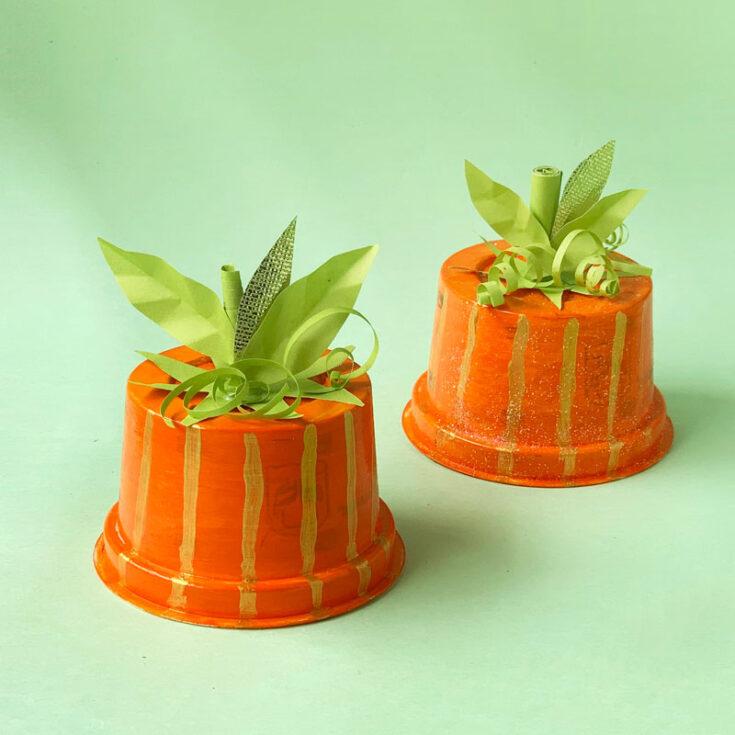 Pumpkin Cup Craft