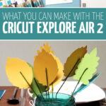 Click to learn what you can amke with the cricut explore air 2 and how to use it! This cricut explore air 2 review is an in-depth guide to cricut for beginners.