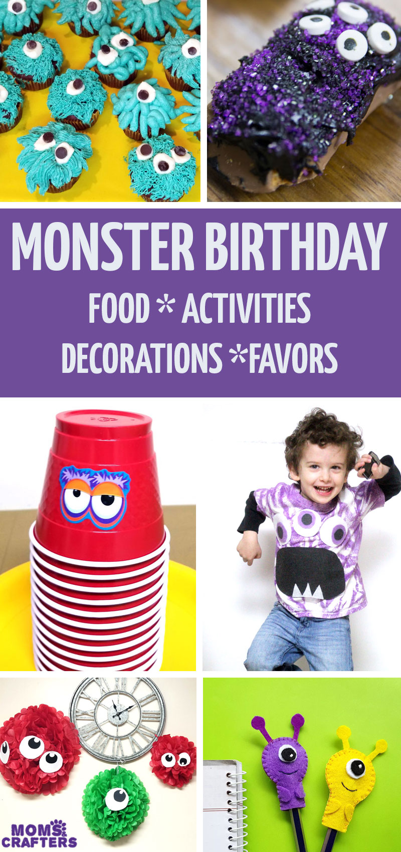 Click for the ultimate list of monster birthday party ideas on a budget! It's a really cool birthday party for boys turning two, three, four, or even five!