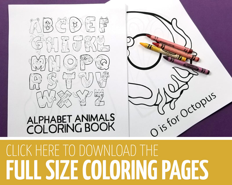 Click here for the alphabet coloring pages