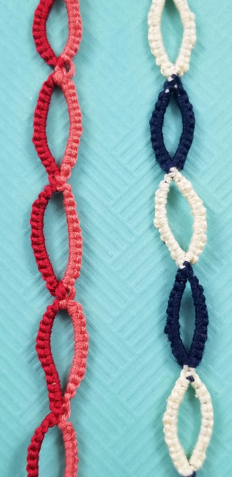 The Deceptively Cool And Insanely Easy Friendship Bracelet Pattern