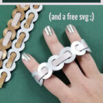 CLick for my favorite cricut jewelry idea - and learn how to amke woven leather bracelets, how to cut leather with your Cricut explore air 2 or maker, and more for beautiful DIY bracelets!