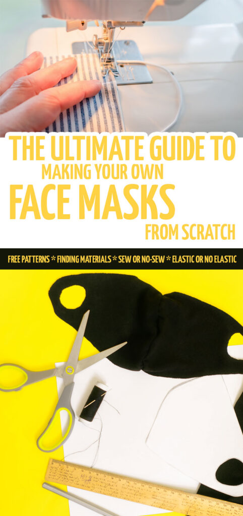 How to make easy DIY face masks - 5 ways