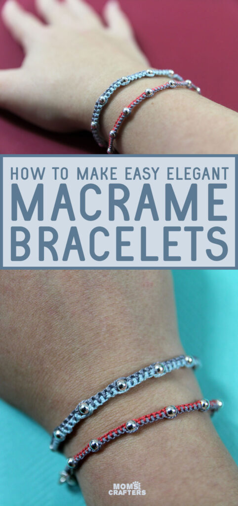Learn how to mkae a beaded friendship bracelet for beginners