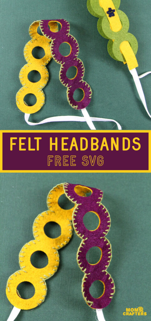 felt headbands tutorial free svg