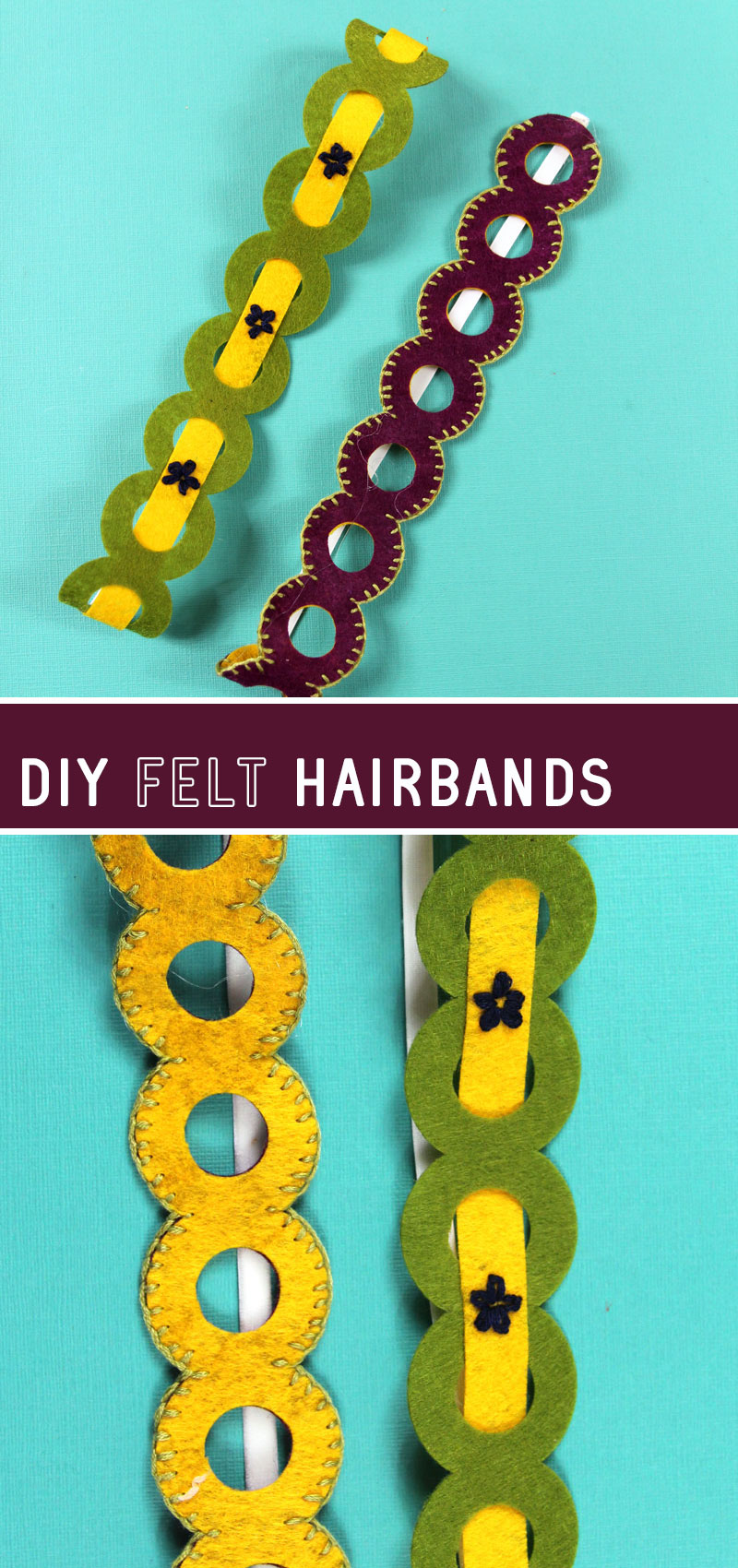 felt headbands tutorial