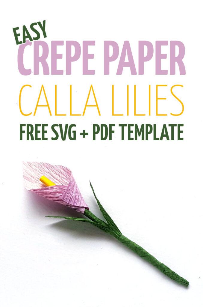 calla lily template white hero