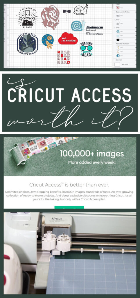 Is cricut access worth it? Title collage