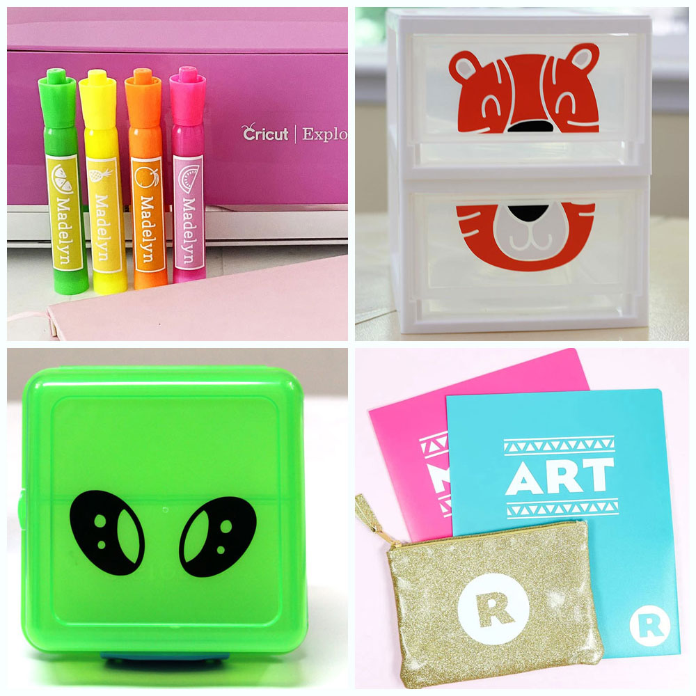 Back to School Cricut Ideas