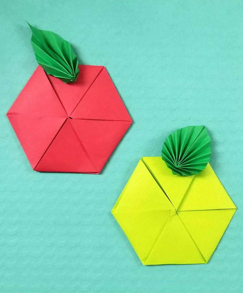 Origami Apple – Beginner Origami