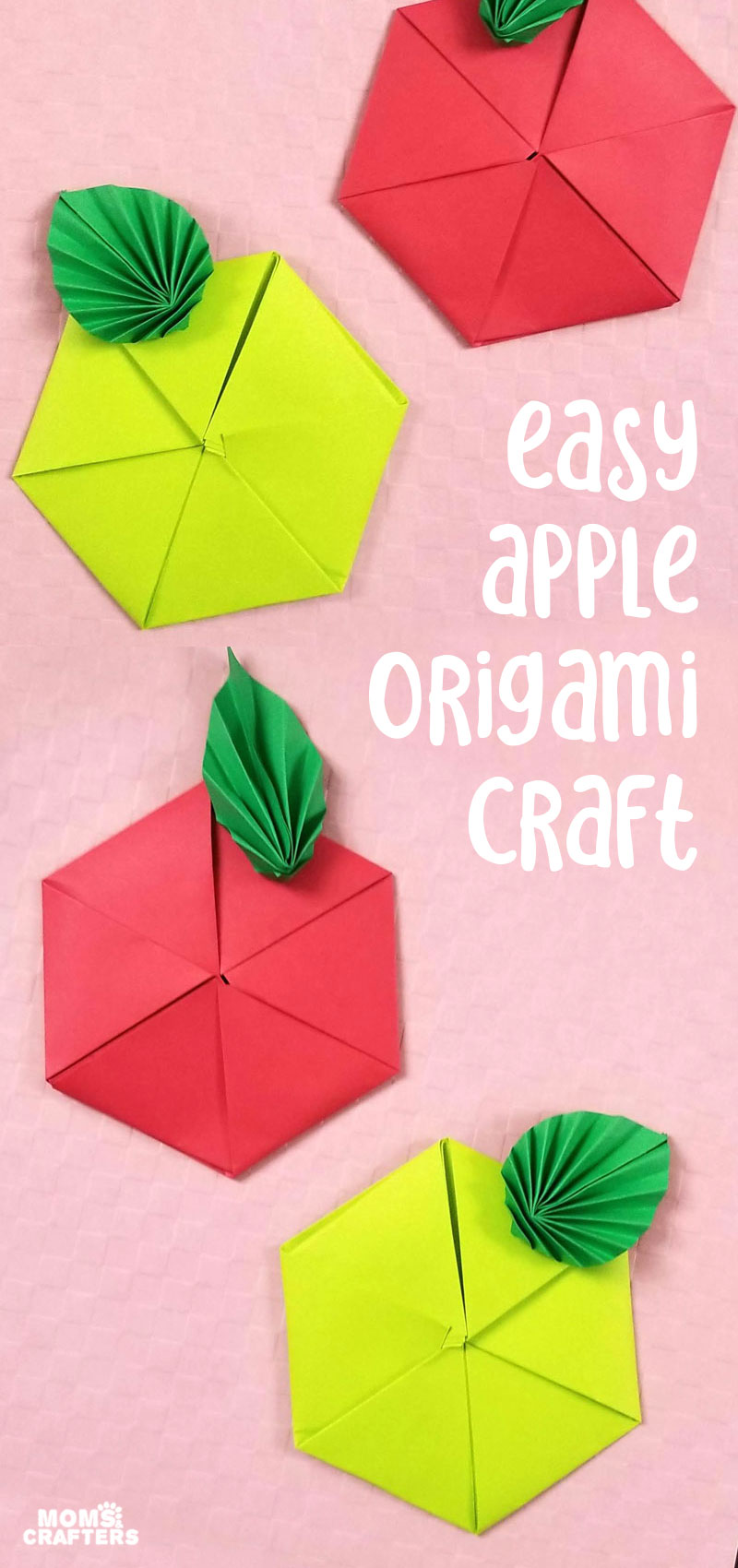Origami Apple cover collage