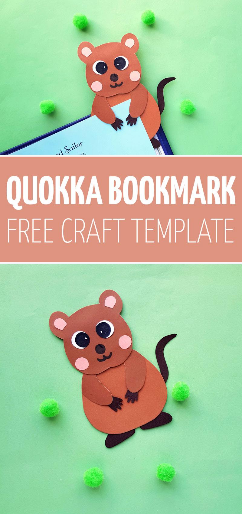 quokka craft collage