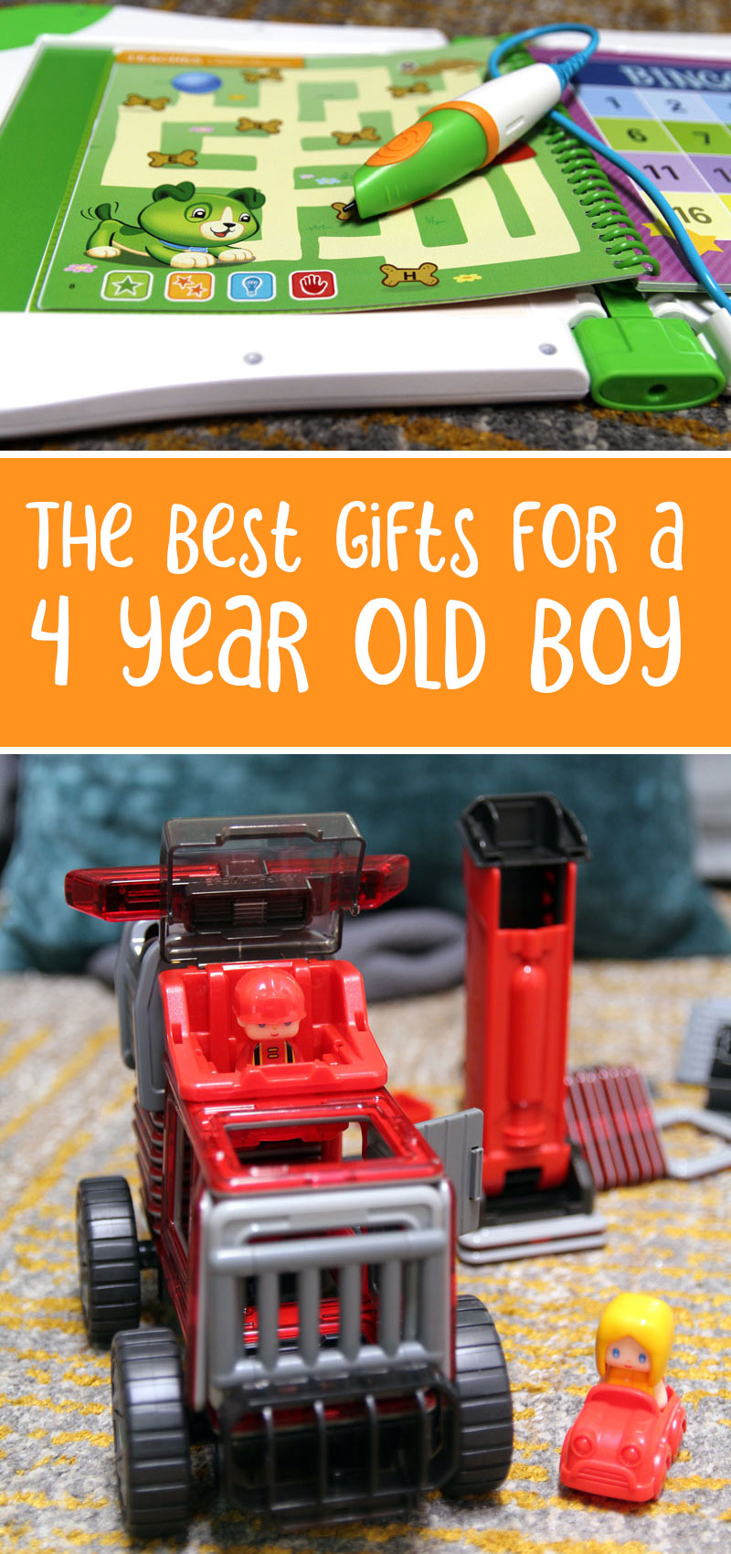 Four year old boy birthday gift ideas