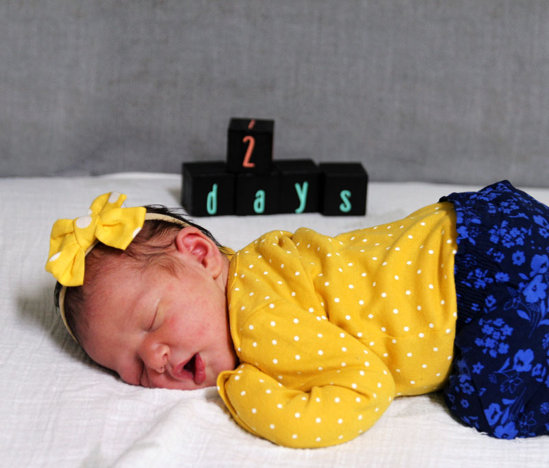 Milestone Blocks for Babies: EASY DIY