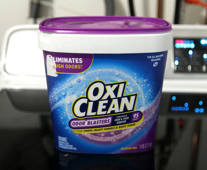 Preserve that adorable outfit that baby pooped in with one of the best baby products: oxi clean stain remover
