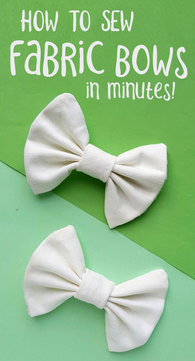 How to sew DIY fabric bows