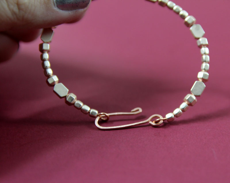 how to make wire jewelry clasps 9