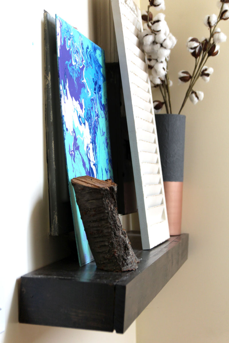 DIY Small Entry Table – Small Space Solutions