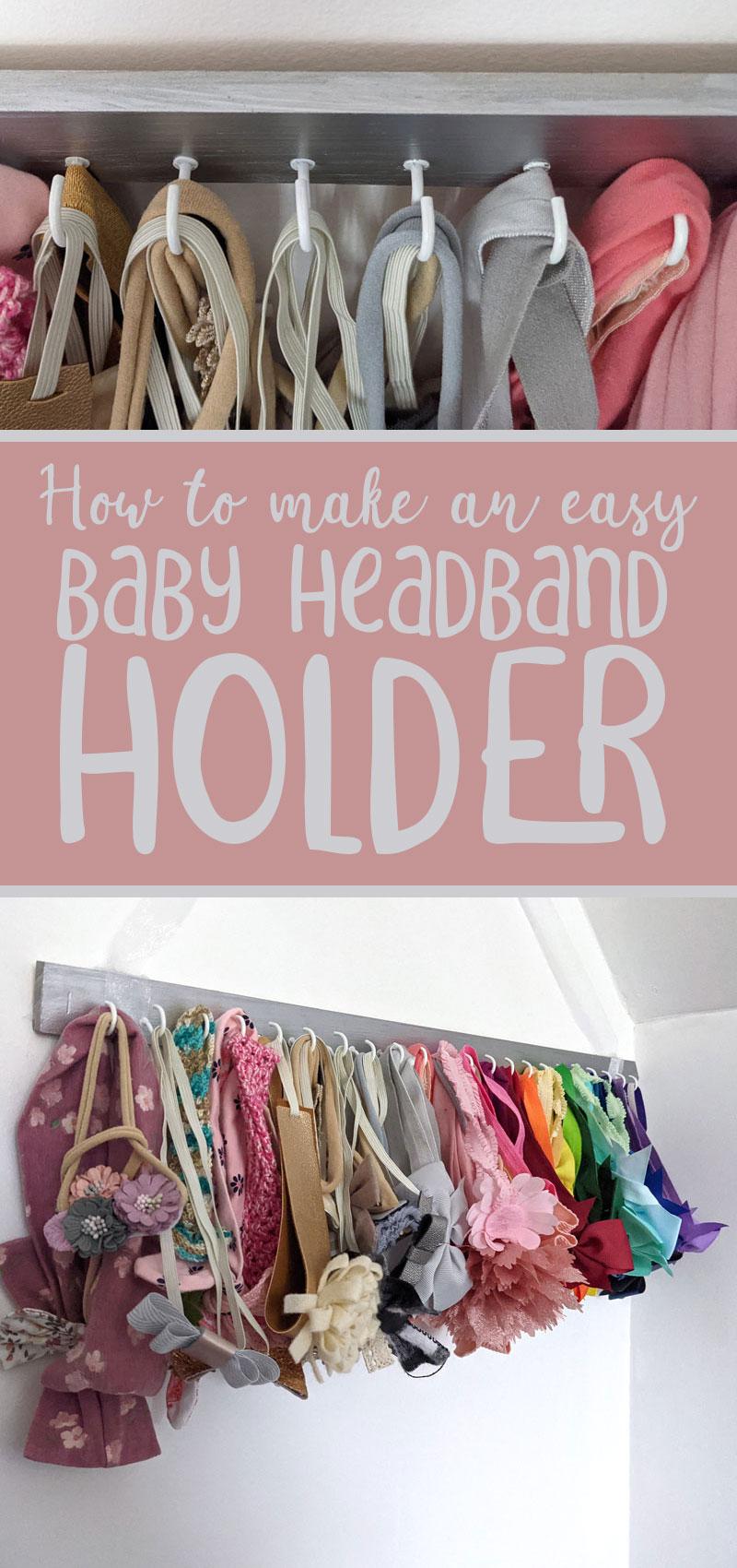 diy baby headband holder hero