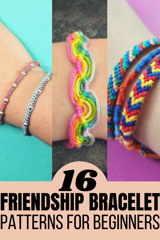 Make your own friendship bracelet patterns for beginners