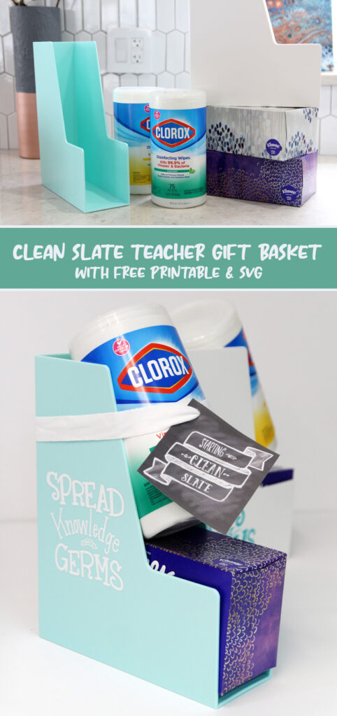 back to school teacher gift collage