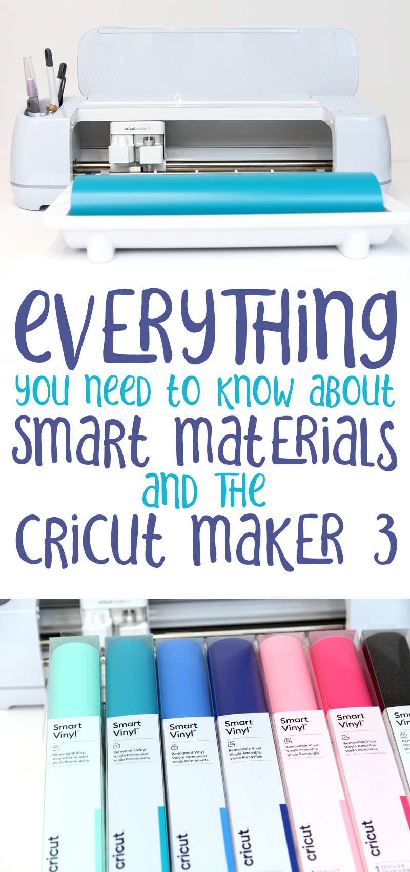 Cricut maker 3 review materials collage