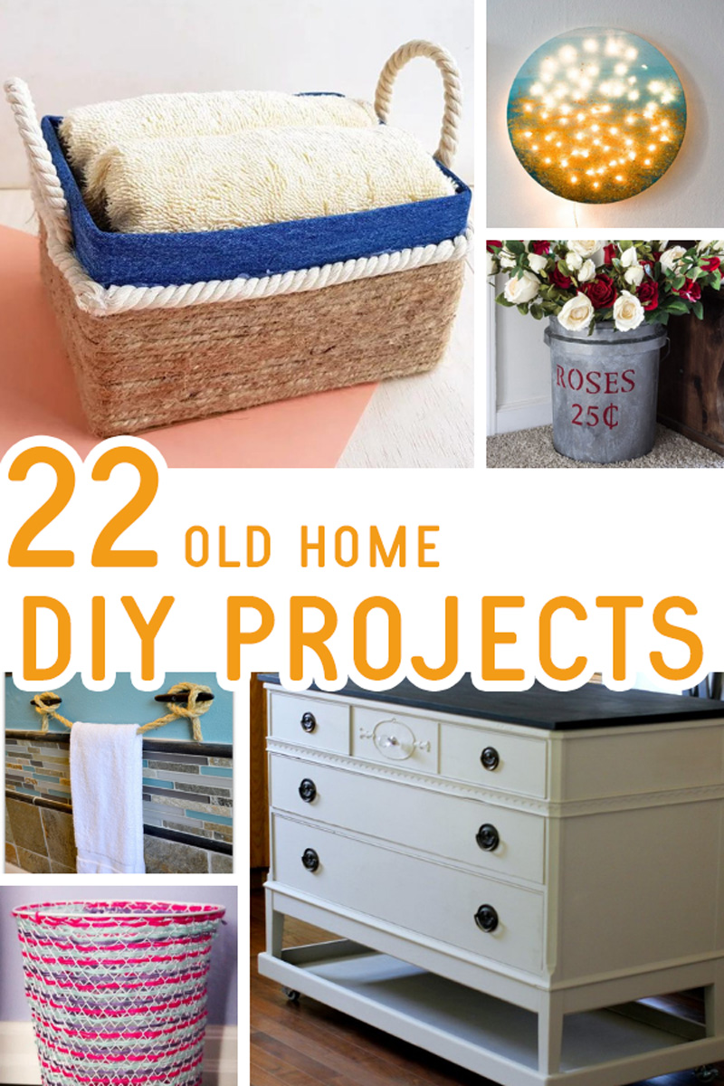 Old house DIY projects collage