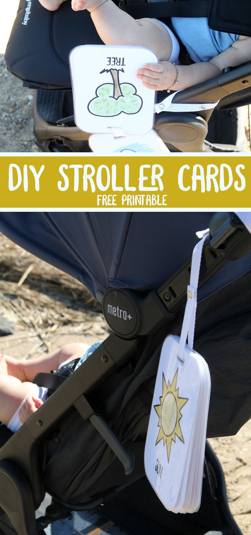 stroller cards and Ergobaby Metro+ Stroller review