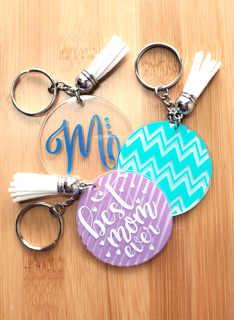 How to Make Acrylic keychains with Cricut