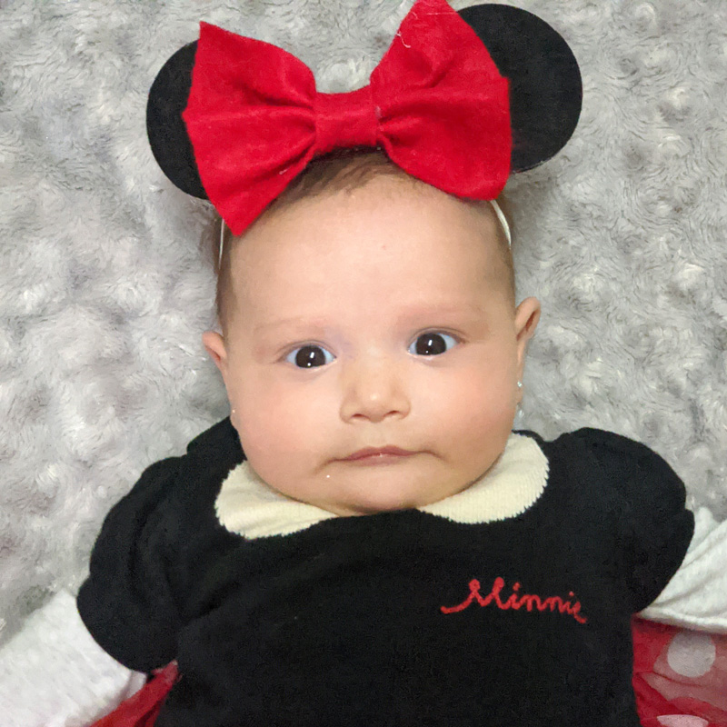 Minnie Mouse Ears for Babies – DIY Costume