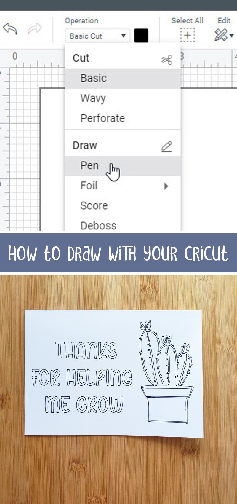how to write with cricut main hero image