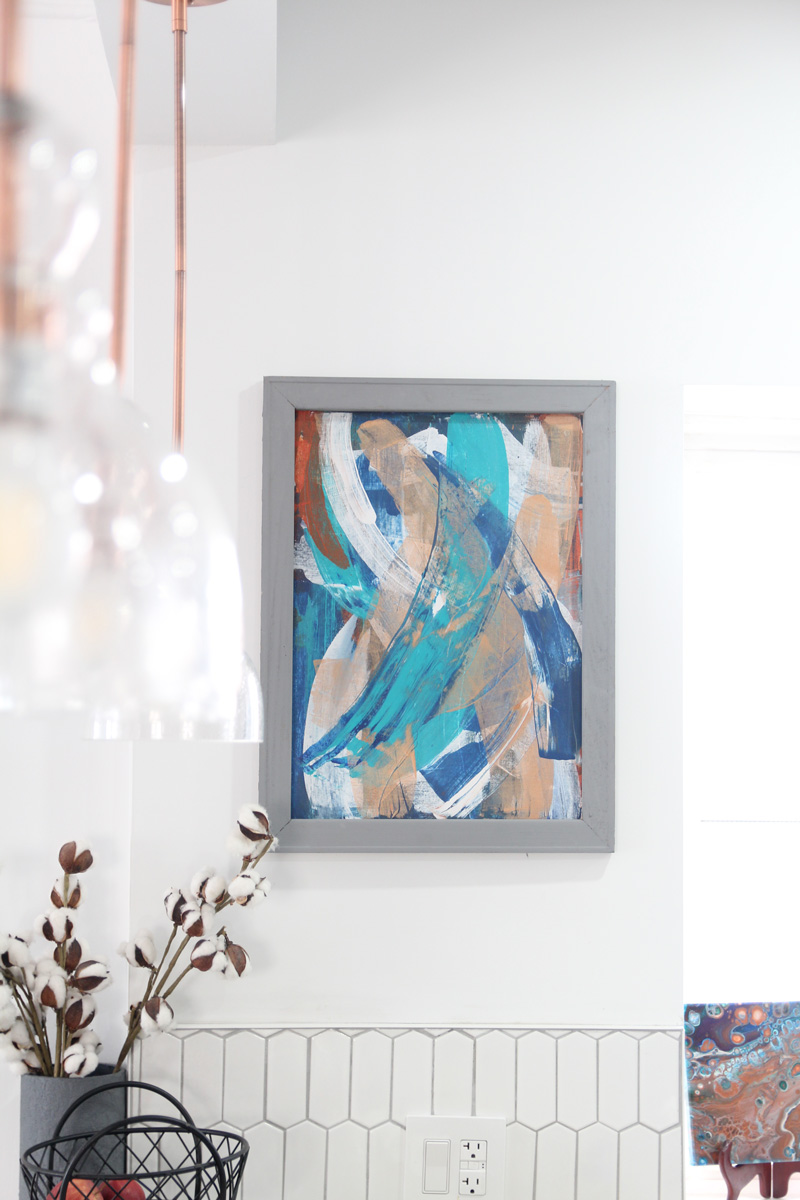 Scrape Painting Art Tutorial